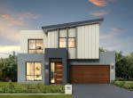 OXLEY NARROW CONTEMPORARY - BLACKWOOD